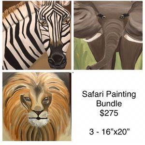 Safari Painting Bundle